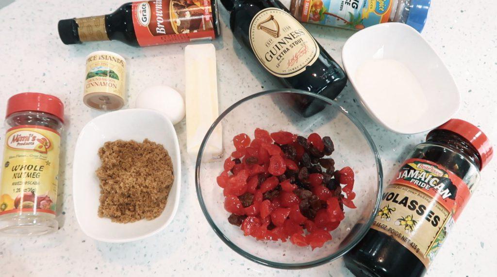 Jamaican Easter Bun Ingredients