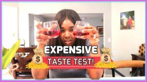 EXPENSIVE TASTE TEST